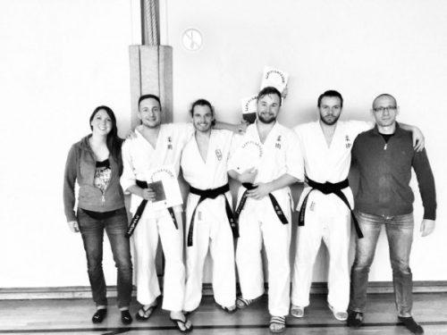 Ju-Jitsu Dan-Prüfung