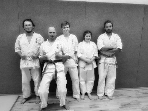 Kyu-Prüfung Ju-Jitsu und EOS-System